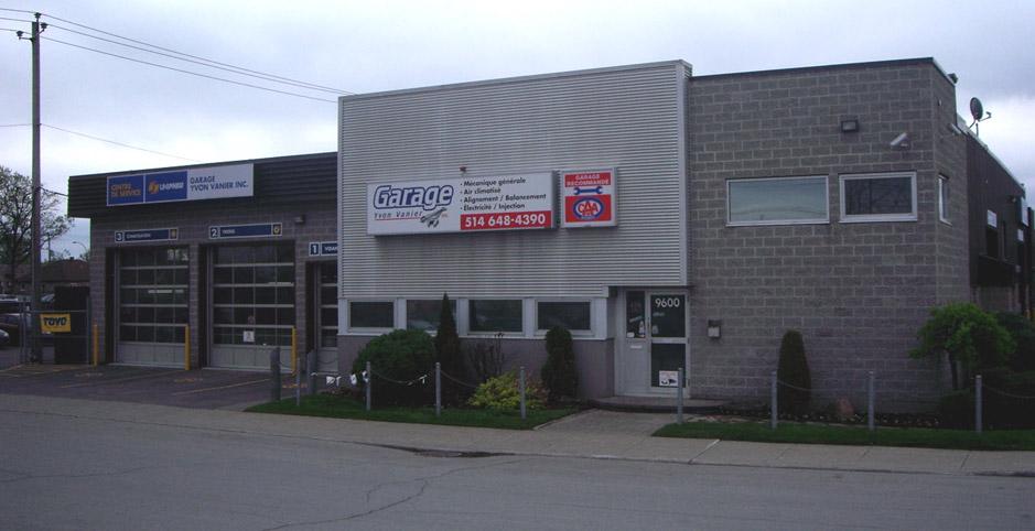 Garage Yvon Vanier
