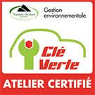 Cle Verte ATELIER CERTIFIE